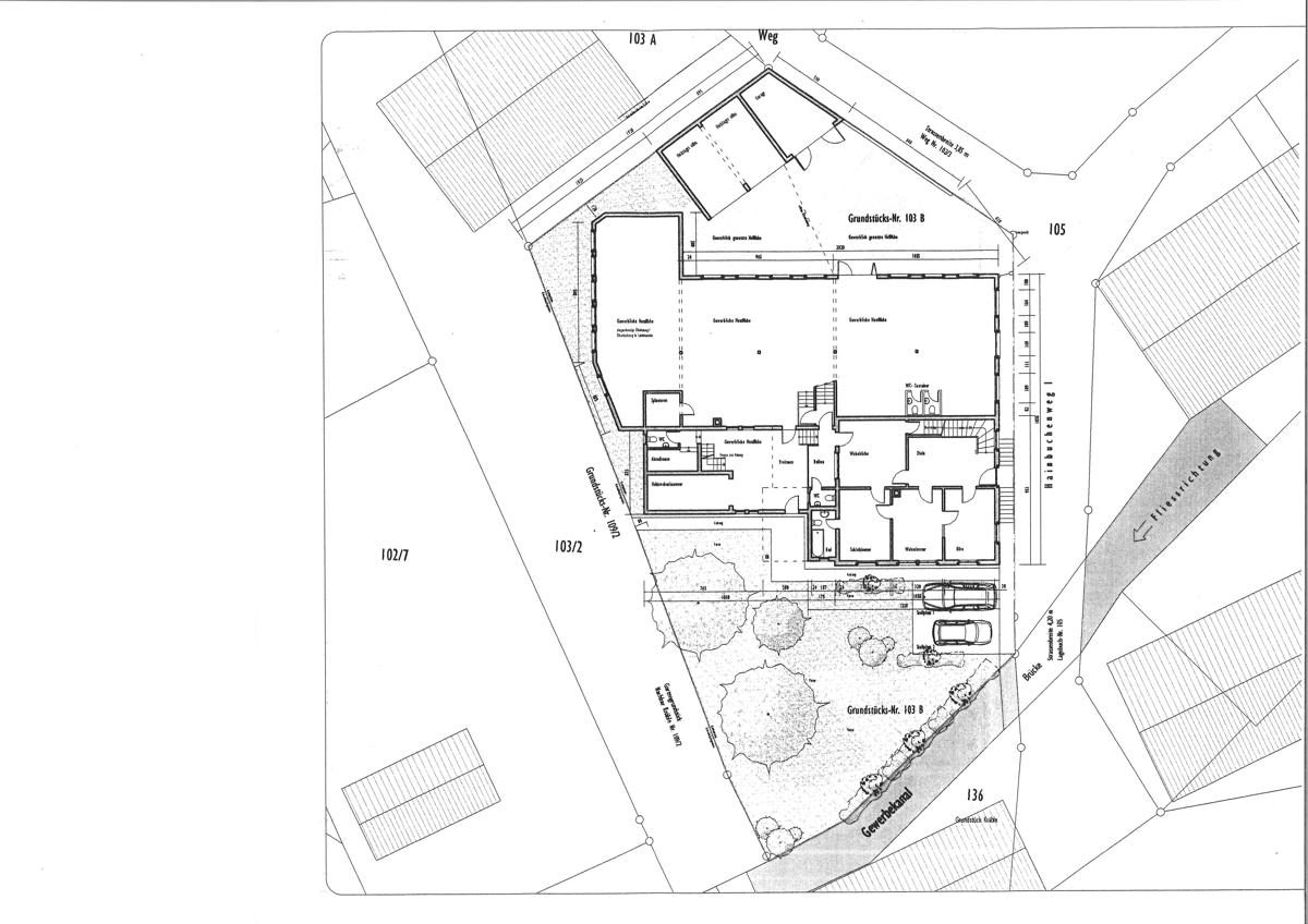 Plan Außenanlage