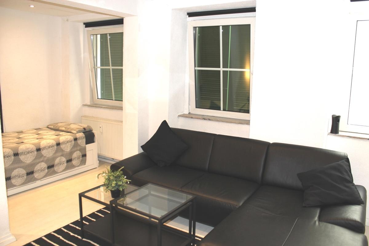 Wohnzimmer Mietwohnung 2