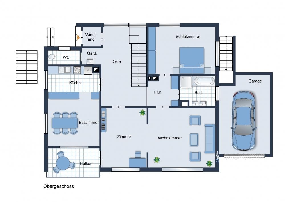 Hauptwohnung