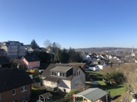 Aussicht von Balkon Wohnzimmer