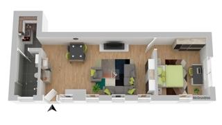 Grundriss EG : Wohnung 2