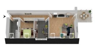 Grundriss OG: Wohnung 3