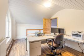 Büro im Dachgeschoss
