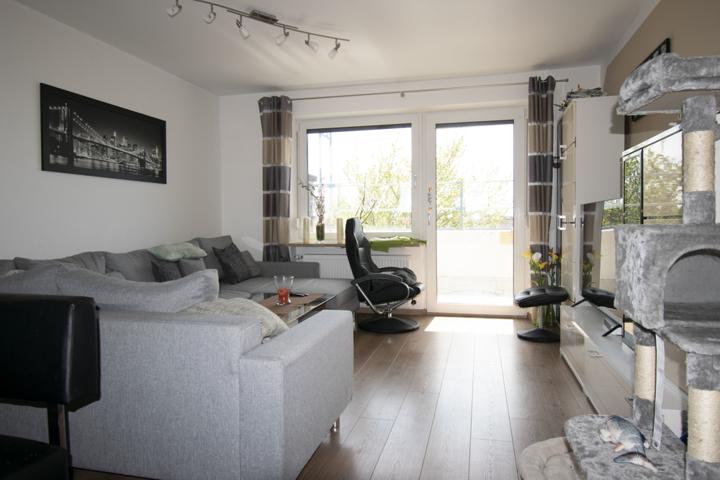 Wohnraum mit Terrassenausgang