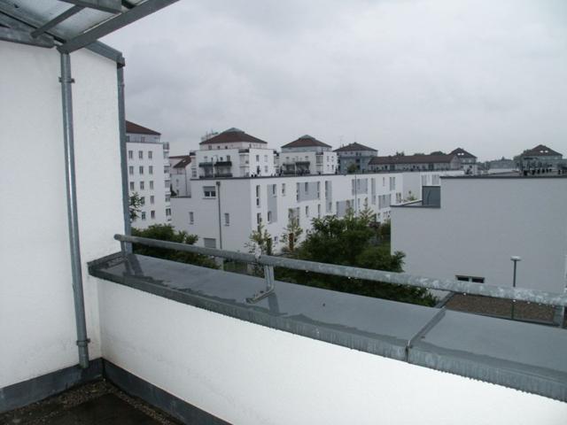 Balkon nach Süd-West