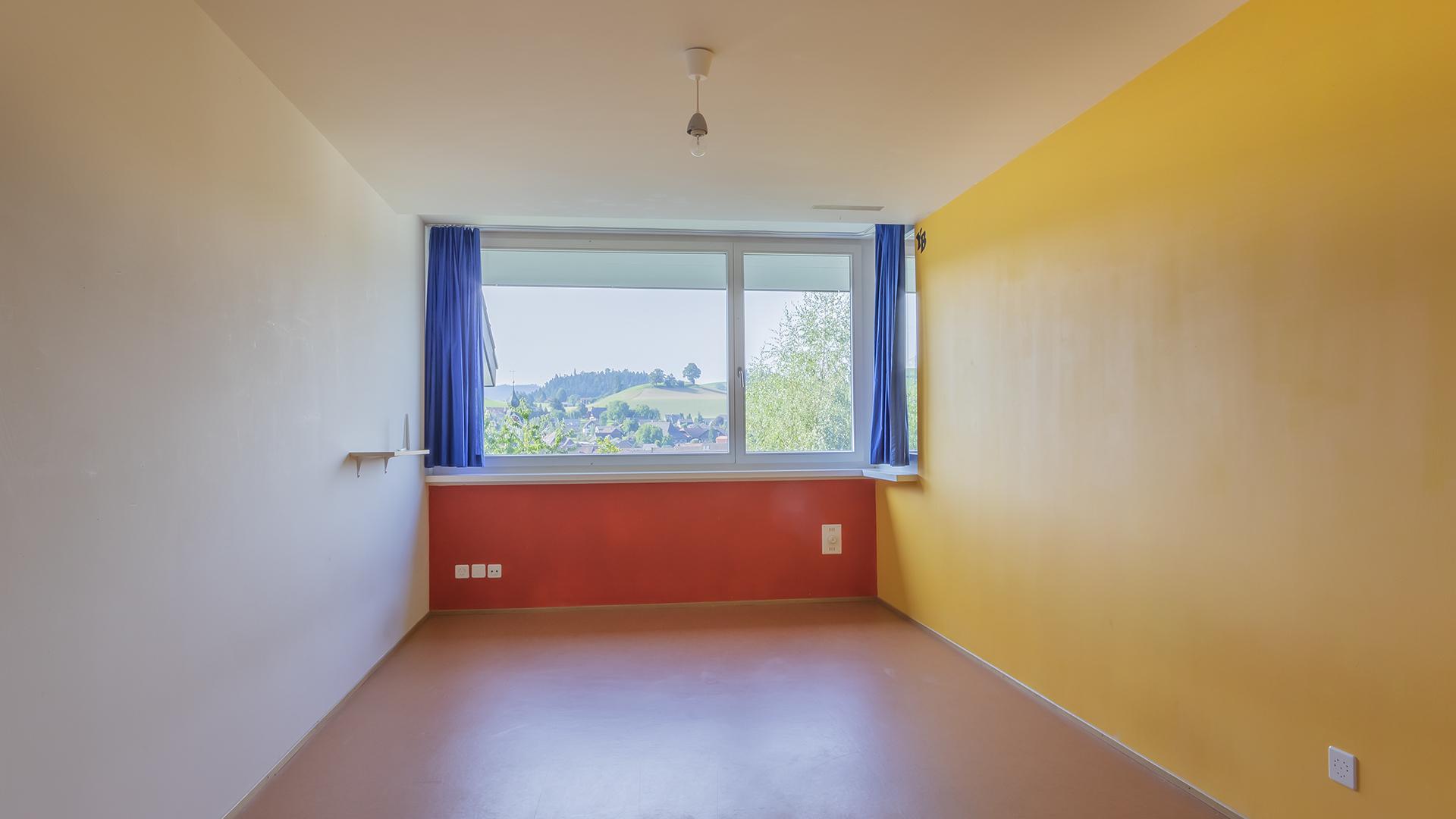 Die Aussicht aus dem Fenster garantiert stets gute Laune.