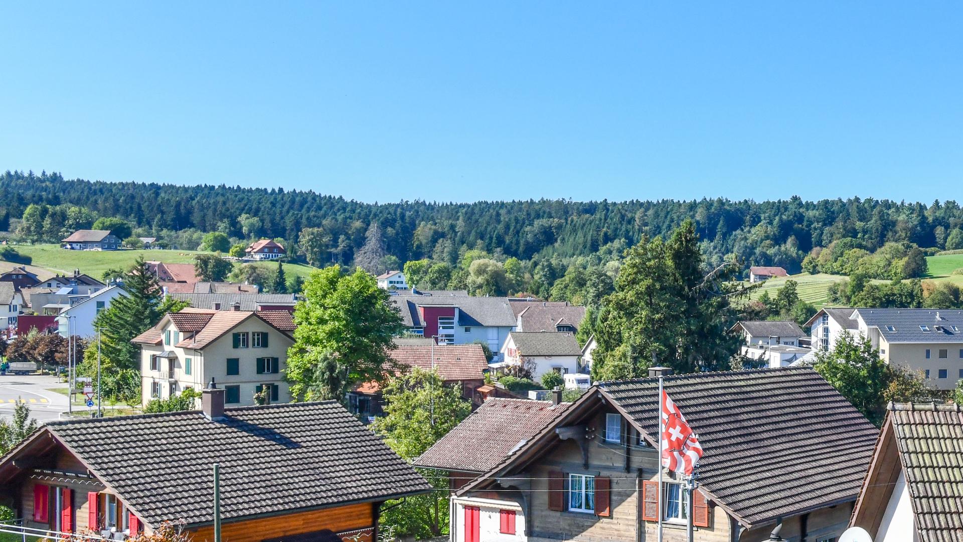 ...über die Gemeinde Vordemwald.