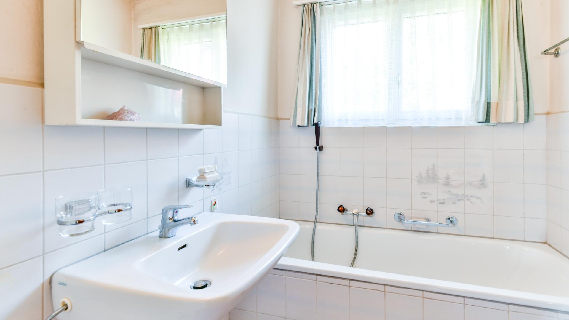 Nassbereich mit Bad/WC