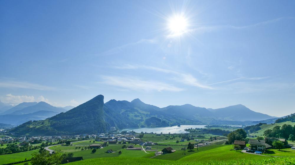 Die Natur rund um Schwyz bietet ganz viele Highlights.
