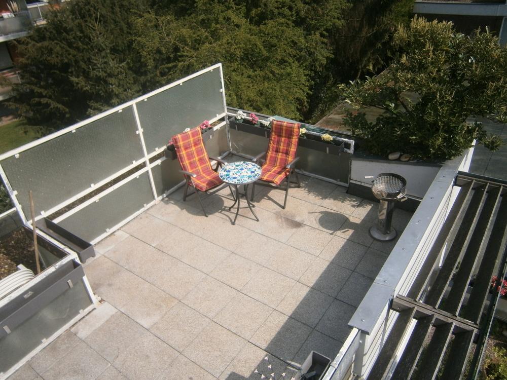 Dachterrasse Ebene 1