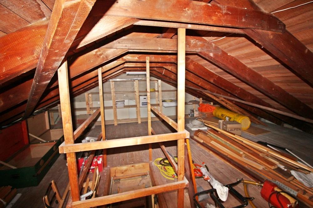 Dachboden rechts