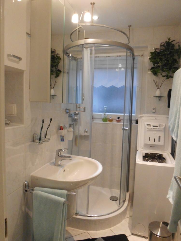 modernisiertes Bad