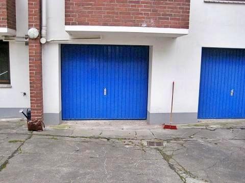 Garage geschlossen