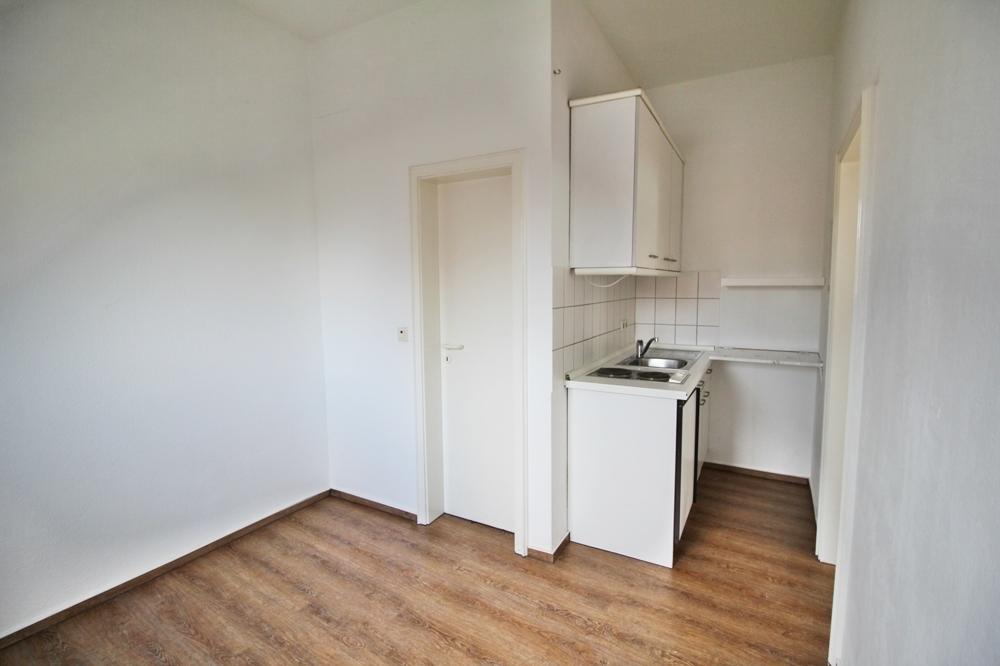 Schlafzimmer mit offener Küche