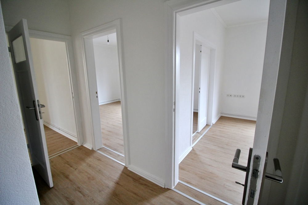 Blick in die Zimmer
