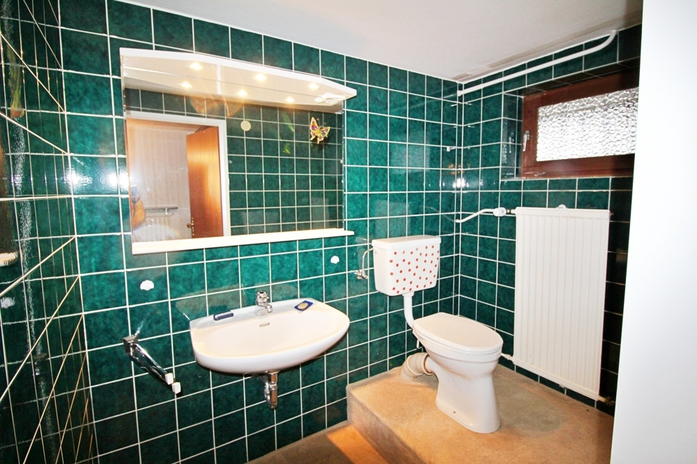 WC im Souterrain