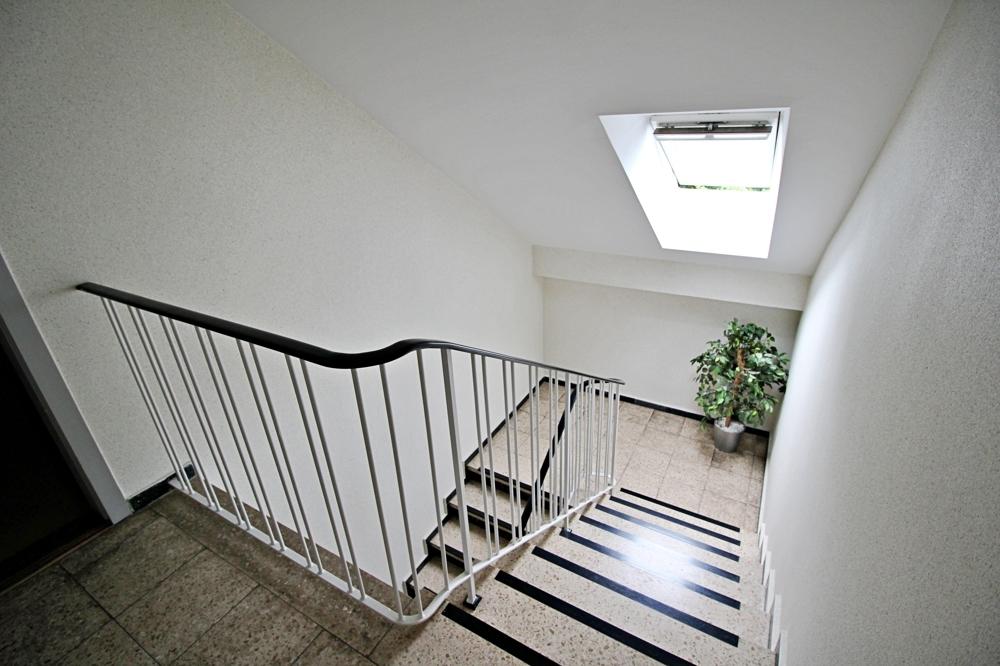 Blick in den Treppenflur