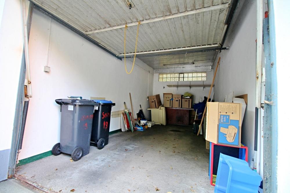Garage angenehm hoch und tief