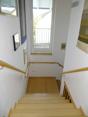 Treppenaufgang zum 1. OG Neubau