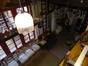 Blick in die Wohnstube von der Empore
