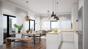 Küchen-/Wohnbereich Animation