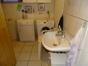 Waschraum mit Sauna und Dusch im UG