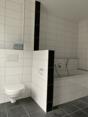 WC und Badewanne