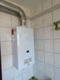 Therme für Warmwasserversorgung Bad