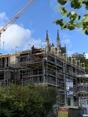 Aktuelle Bauphase Rheinseite