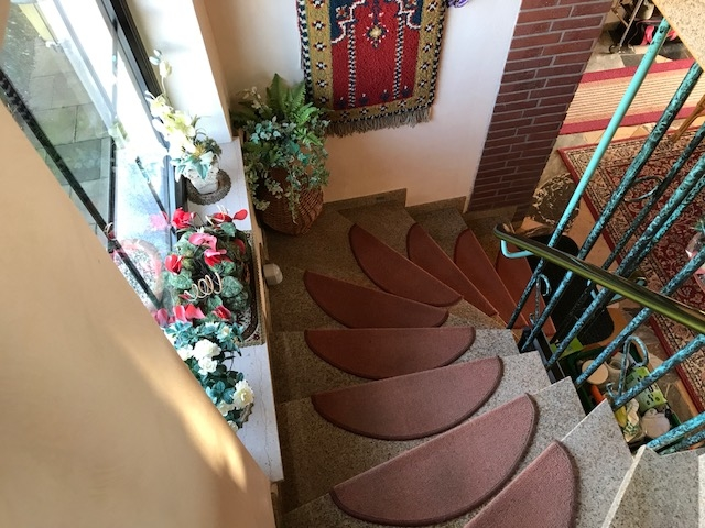 Treppenauf-/abgang