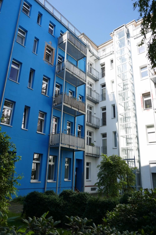 Fassade Innenhof