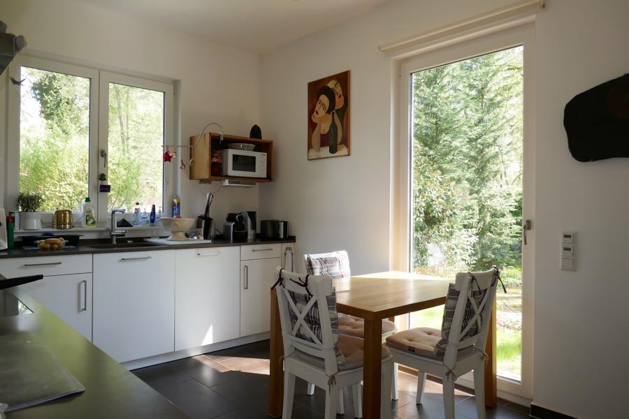 Küche Ausgang Terrasse