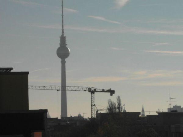 Ausblick-Zoom zum Fernsehturm
