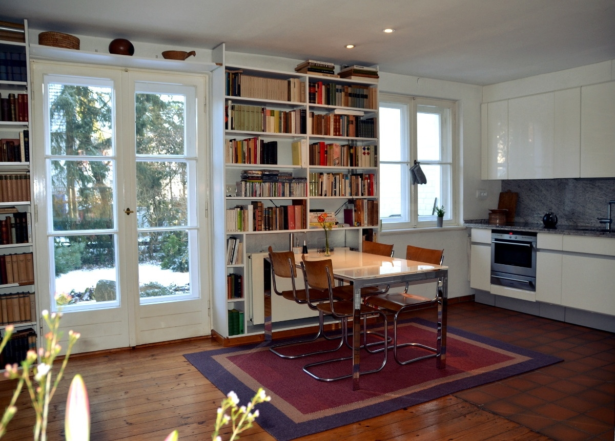 Wohbereich mit offener Küche