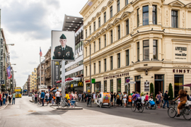 Close to Checkpoint Charlie