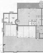 Grundriss untere Etage