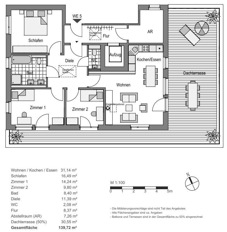 Haus Abendrot_Wohnung 5
