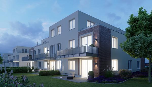 Haus_A_3D-Modell_Nacht