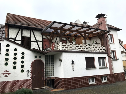 Außensicht Wohnhaus