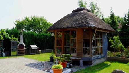 Einzigartiges Gartenhaus