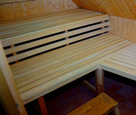 Sauna im Studio