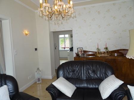 Blick Wohnzimmer/Küche