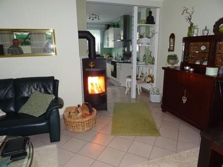 Kaminofen im Wohn/Esszimmer
