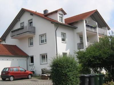 Außenansicht Mehrfamilienhaus