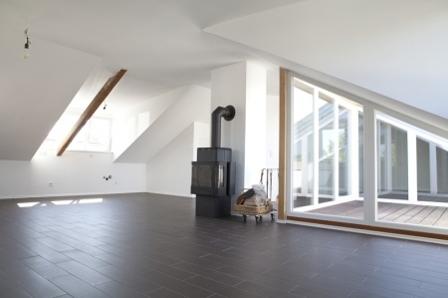 Wohnbereich mit küchenecke (noch nicht vorhanden)