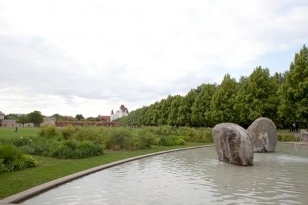 Klenzepark mit Schlossblick