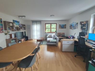 Wohnzimmer Blick von der Küche
