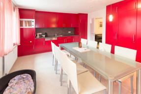 Aufenthaltsraum mit Küche