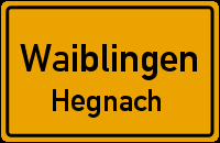 Waiblingen.Hegnach