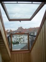 Fensterbalkon Aussicht